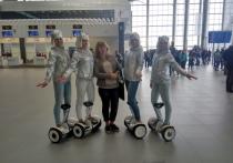 В новом терминале международного аэропорта «Симферополь» встретили первых пассажиров