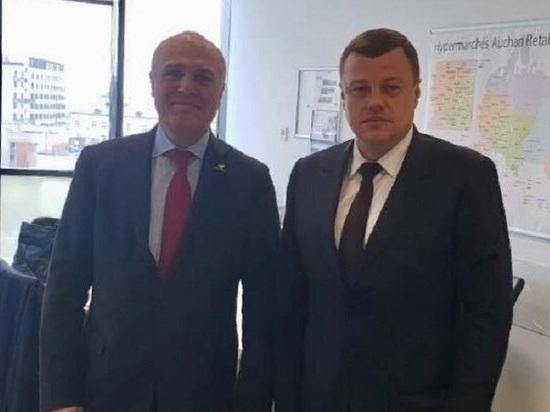 """Тамбовская область заключит соглашение о дальнейшем сотрудничестве с компанией """"АШАН"""""""