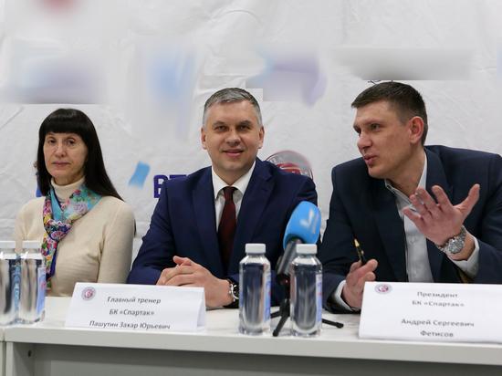 Захар Пашутин: с возрожденным баскетбольным «Спартаком» движение вверх будет постепенным