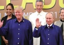 Говоря слова благодарности Терезе Мэй за то, что она первая поздравила нового президента США с победой на выборах, Дональд Трамп вдруг узнал от своего советника, что первые поздравления поступили не из Лондона, а из Москвы