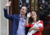 Кейт Миддлтон показала новорожденного сына: видео