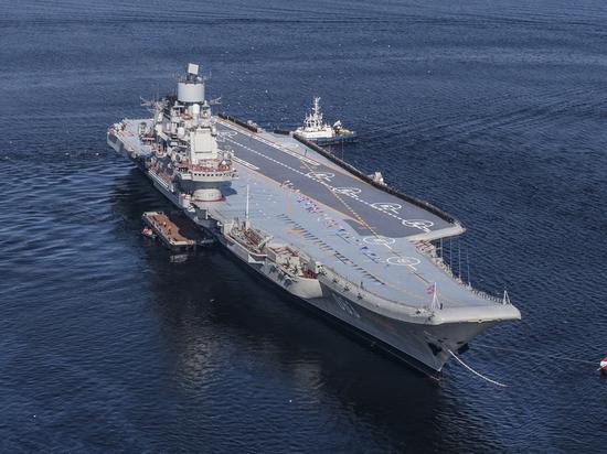 Причиной ремонта «Адмирала Кузнецова» стала «родовая травма»
