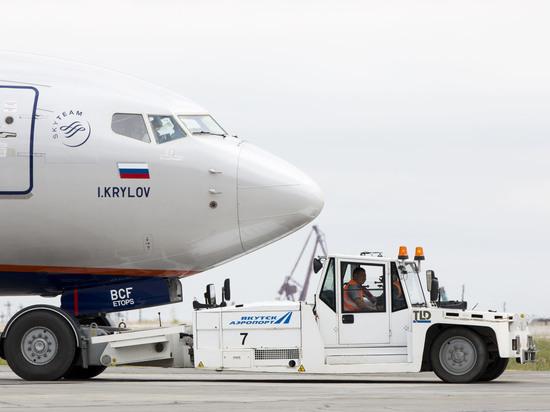 Аэропорт «Якутск» работает в штатном режиме в условиях сильного ветра