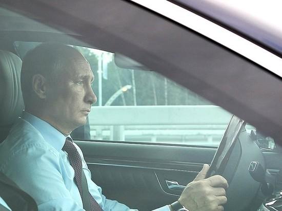 Путин снова поедет на свою инаугурацию на иномарке