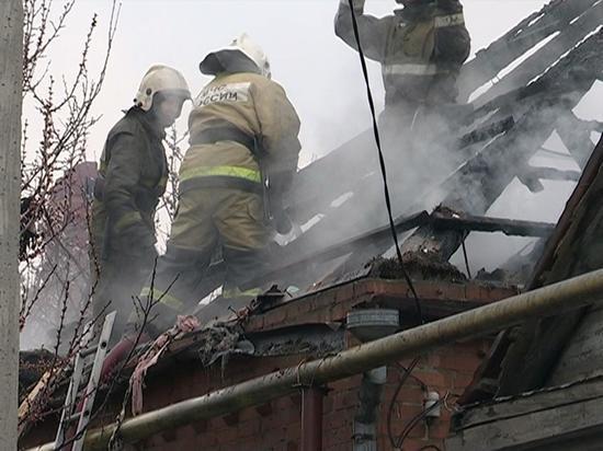 Пожар в жилом доме в Костроме потушен: обнаружен пострадавший