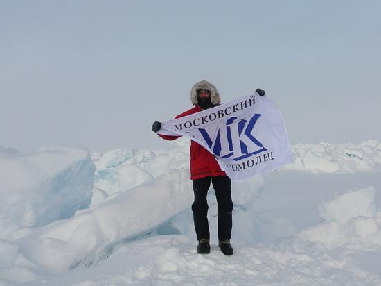 Наш спецкор прошел 82 километра на лыжах в составе Большой Арктической экспедиции