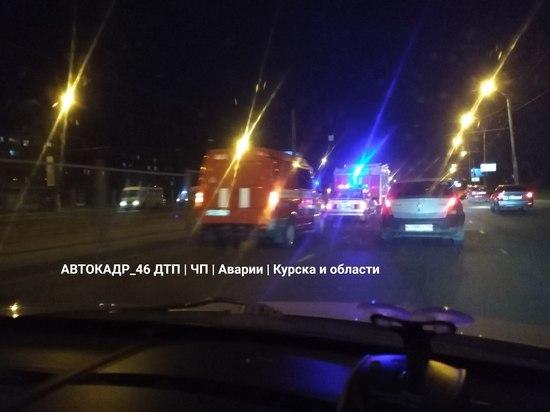 В Курске в результате вечерней аварии пострадал 7-летний ребенок