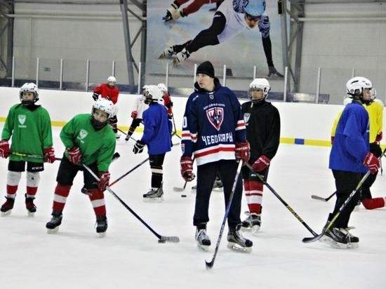 Игроки ХК «Чебоксары» провели мастер-класс для юных хоккеистов