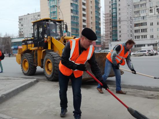 Почти 100 тысяч новосибирцев вышли на субботник