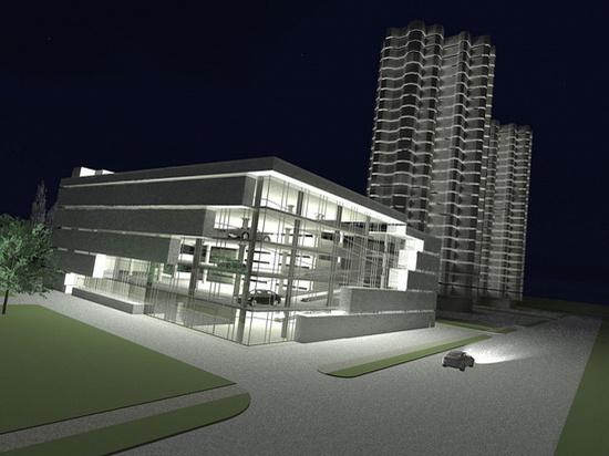 Проекты ярославских многоуровневых парковок представят горожанам в начале мая