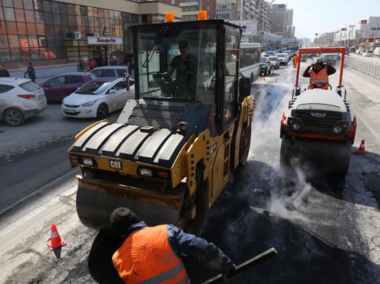 На уличной сети Новосибирска закипели весенние работы