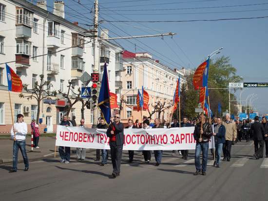 Шесть тысяч тамбовчан примут участие в первомайском шествии профсоюзов
