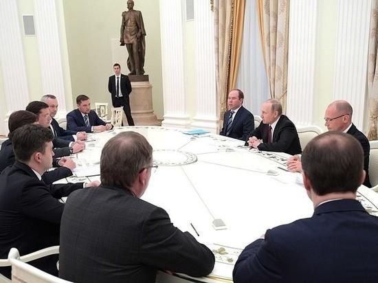 Станислав Воскресенский рассказал Владимиру Путину о низких зарплатах в Ивановской области