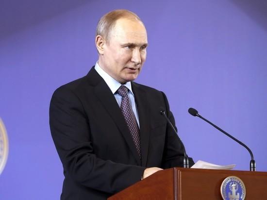 Путин выучил новое слово: «Скажу — буду выглядеть приличным»
