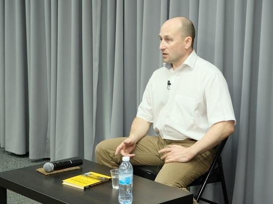 В Тель-Авиве прошла творческая встреча с российским публицистом и общественным деятелем Николаем Стариковым