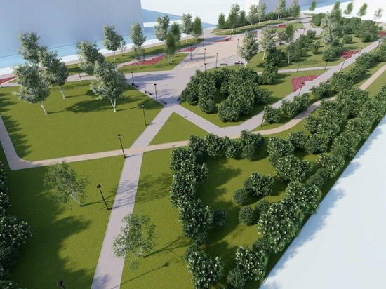 Депутаты утвердили выделение 35 с половиной миллионов на строительство парка за «Русью»