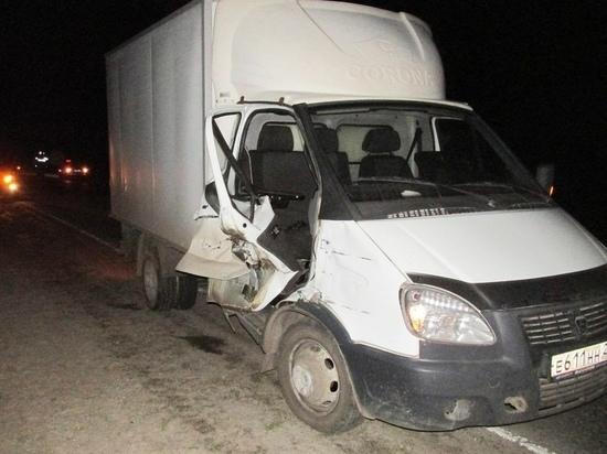 В Чувашии пьяный водитель фургона врезался в мотоблок с нетрезвым сельчанином, пострадали дети