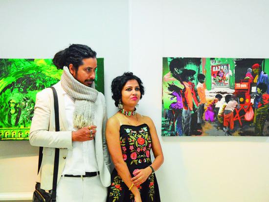 В Екатеринбурге прошел X Мумбайский фестиваль современного искусства