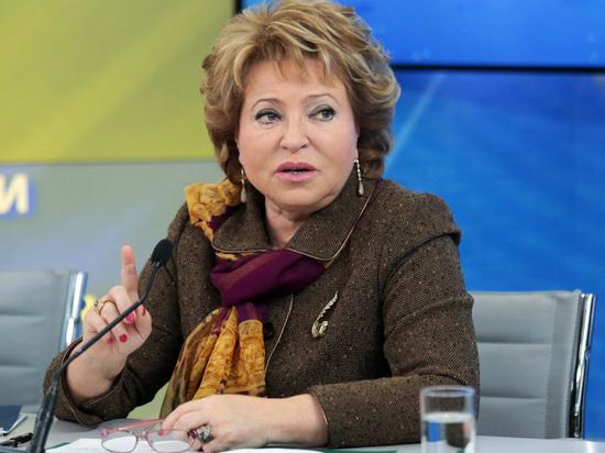 Матвиенко потребовала возродить вытрезвители в России за 2 месяца
