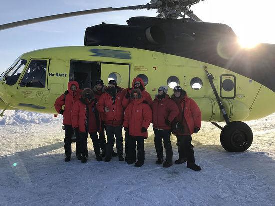Глава МЧС наградил участников Большой Арктической Экспедиции