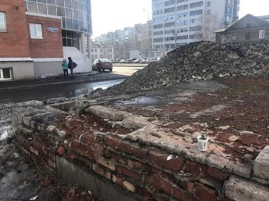Дети нашли гранату в центре Архангельска