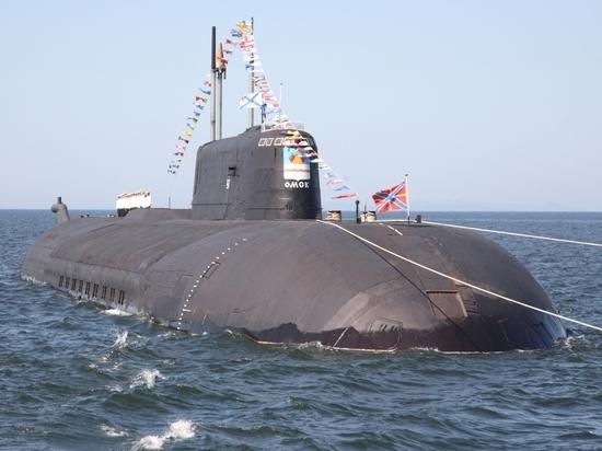 """Речь идет об атомной субмарине проекта 949А """"Антей"""""""