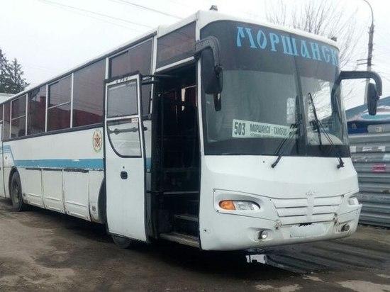 В Тамбове на маршрут хотели выпустить автобус с неисправным рулем