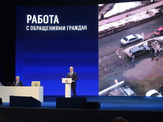 Глава Удмуртии Александр Бречалов отчитался о работе правительства в 2017 году