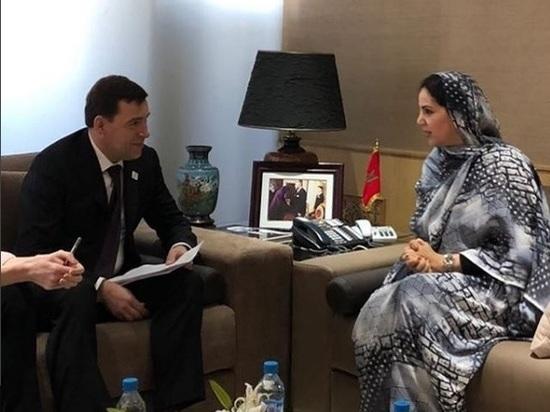 Куйвашев договаривается с Африкой: губернатор продвигает заявку Екатеринбурга на право проведения ЭКСПО-2025