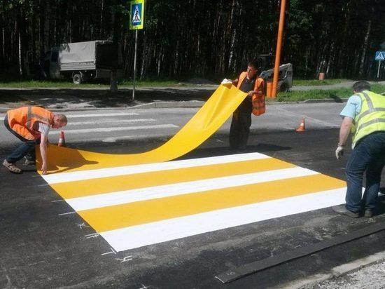 Термопластиковая разметка появится на дорогах в Костроме