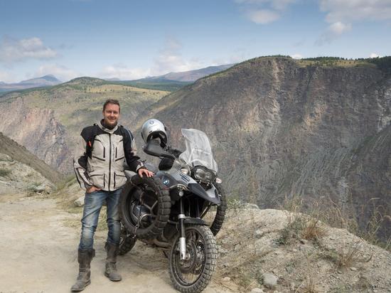 Мартин Штольберг: «Если увидеть мир самому, все кажется другим». На мотоцикле через Россию и Среднюю Азию