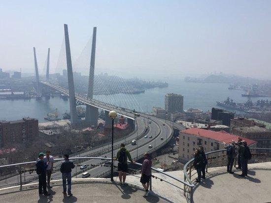 Буря из пустыни Гоби удивила людей во Владивостоке