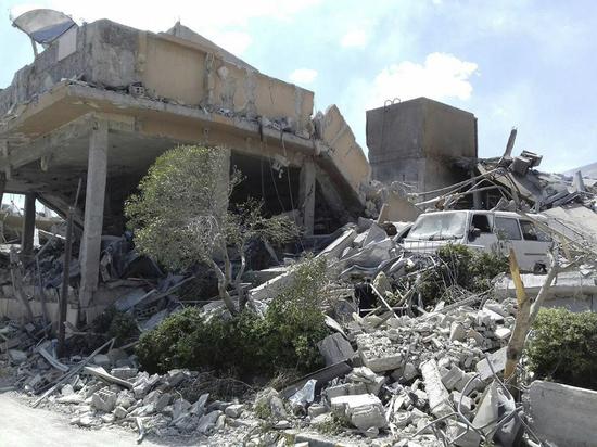 Удар нанесен по объектам возле городов Хама и Алеппо