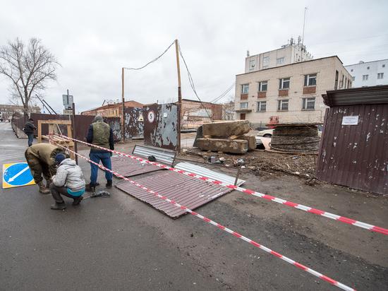 Парковка для Делюса Сиразетдинова. Компания депутата захватила автостоянку в центре Казани