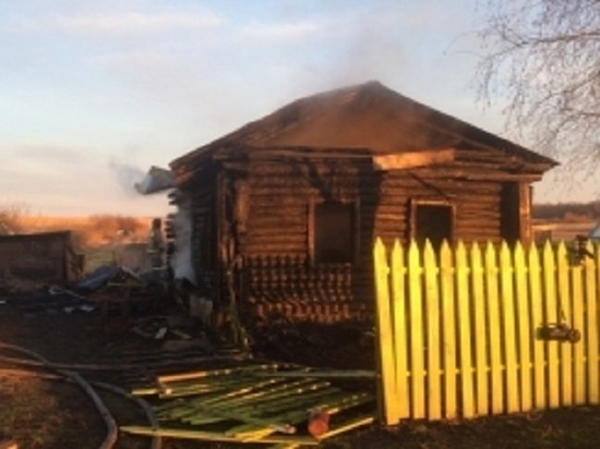 В Мордовии во время пожара погибли два человека