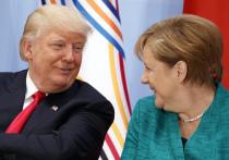Трамп обратился к Меркель на прошлой неделе с просьбой дать совет, как лучше общаться с Путиным