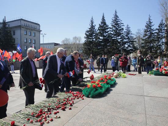 Около четырех тысяч иркутян приняли 1 мая участие в шествии