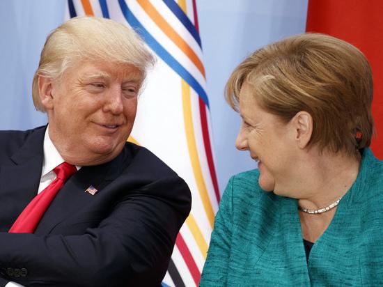 Трамп просил Меркель посоветовать, как лучше общаться с Путиным