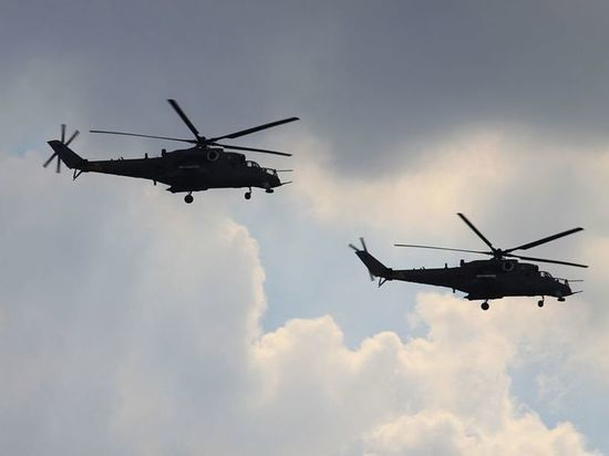 «Реалистично»: морпехи США решили потренироваться на российских Ми-24 и Ми-17
