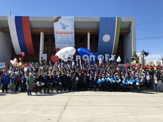 Аэропорт «Якутск» выиграл конкурс лучшие первомайский колонны