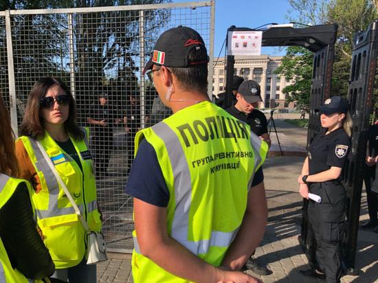 В годовщину трагедии в Доме профсоюзов в Одессе неспокойно