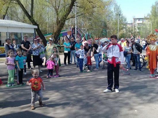 В серпуховском парке открыли летний сезон