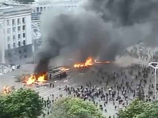 Москва возмутилась нежеланием США вспоминать бойню в одесском Доме профсоюзов