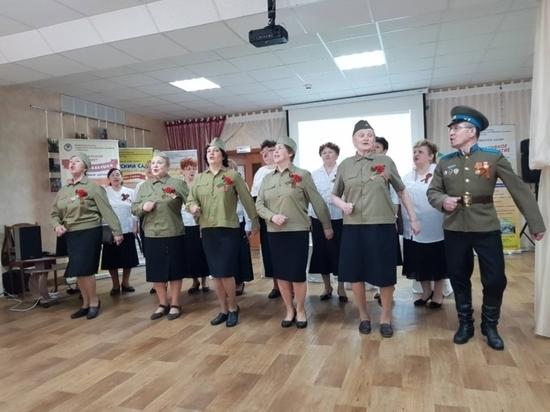В Чебоксарах прошел фестиваль военной песни