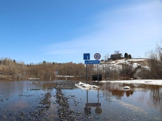 Деревня под Архангельском превратилась в остров