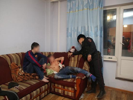 Некоторые якутяне встретили первомай с ножом в руках