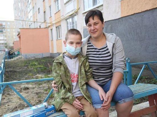 В Саранск после операции по пересадке сердца вернулся Рома Буянкин