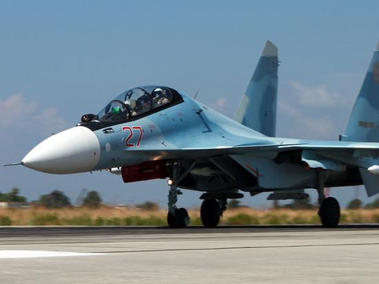 В Сирии разбился истребитель Су-30: пилоты погибли