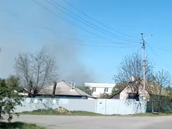 Жителей готовят к эвакуации: в Балаклеи опять рвутся снаряды в арсенале