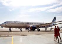 В честь 95-летия «Аэрофлот» порадовал пассажиров самолетом в юбилейном окрасе